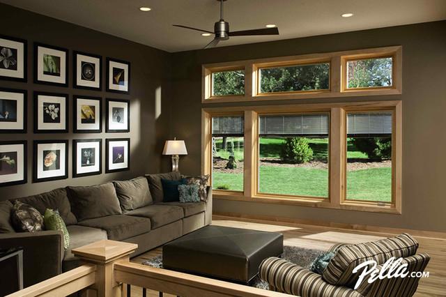 Room With Casement Windows : Pella designer series casement and fixed windows