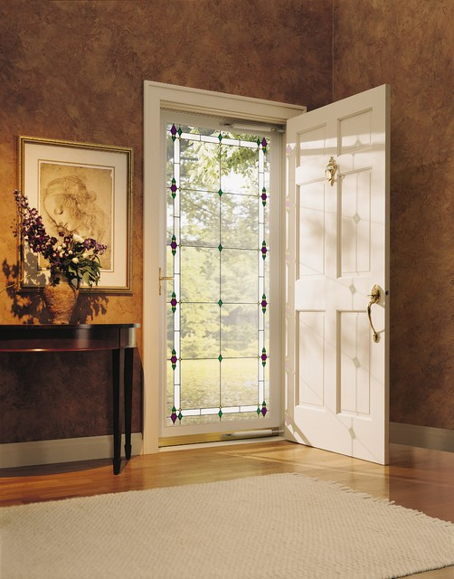 Pella Energy Star Qualified Storm Doors Transform Your Entry Way