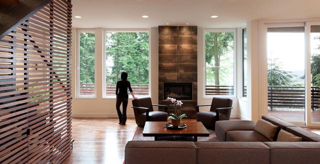 Pellerin Residence contemporary-living-room