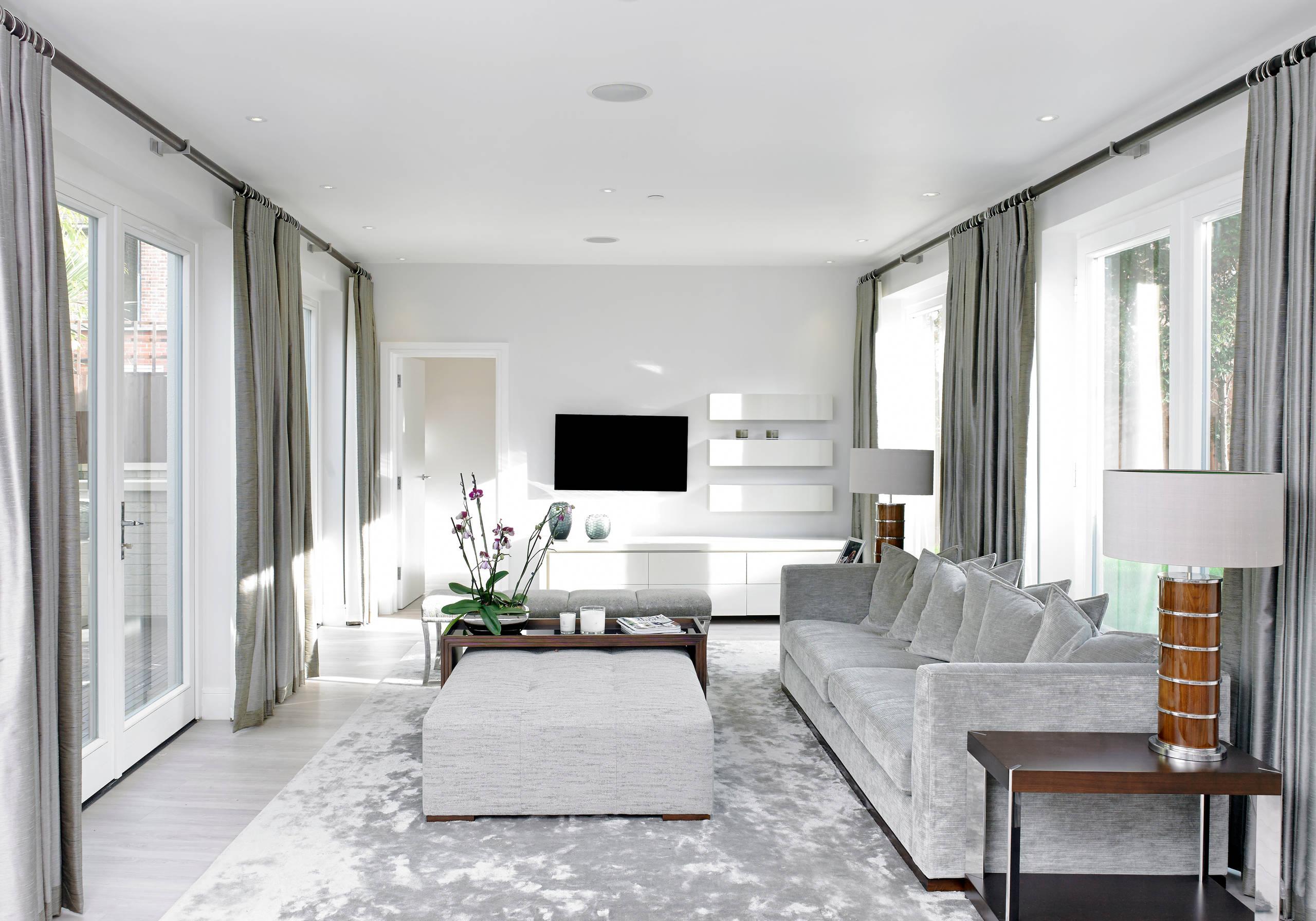 Silver Grey Living Room Ideas Photos, Silver Living Room