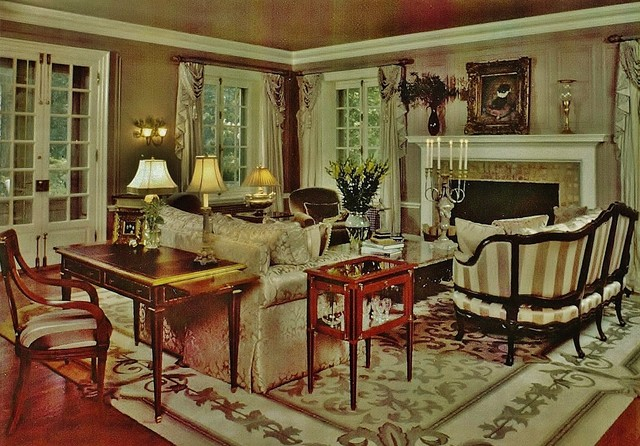 Penllyn Country Estate eclectic-living-room