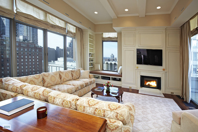 Penthouse traditional-living-room