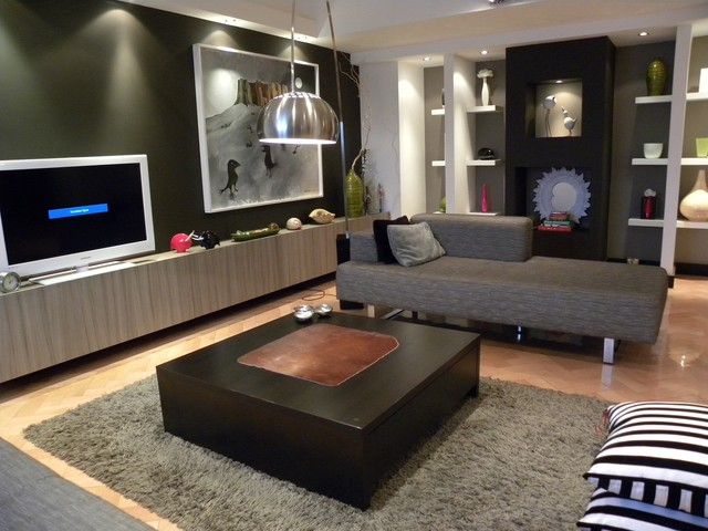 Penthouse in Belgrade - Contemporary - Living Room - Other - by ...