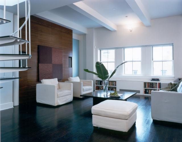 PENTHOUSE LOFT modern-living-room