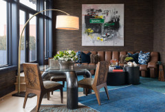 Swanky Penthouse Features Vibrant Works by Famed Street Artists