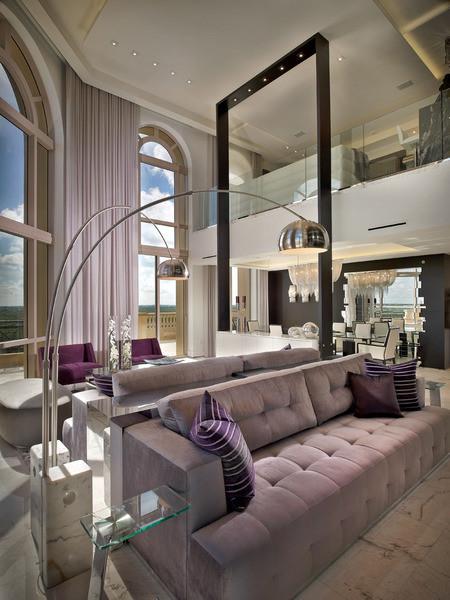 living room miami by pepe calderin design modern interior design