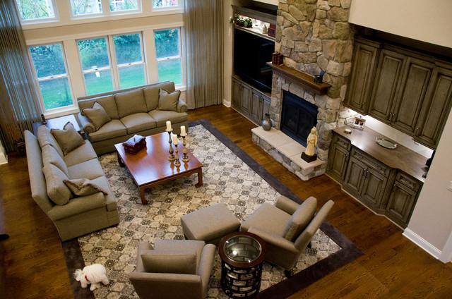 Pepper Pike living-room