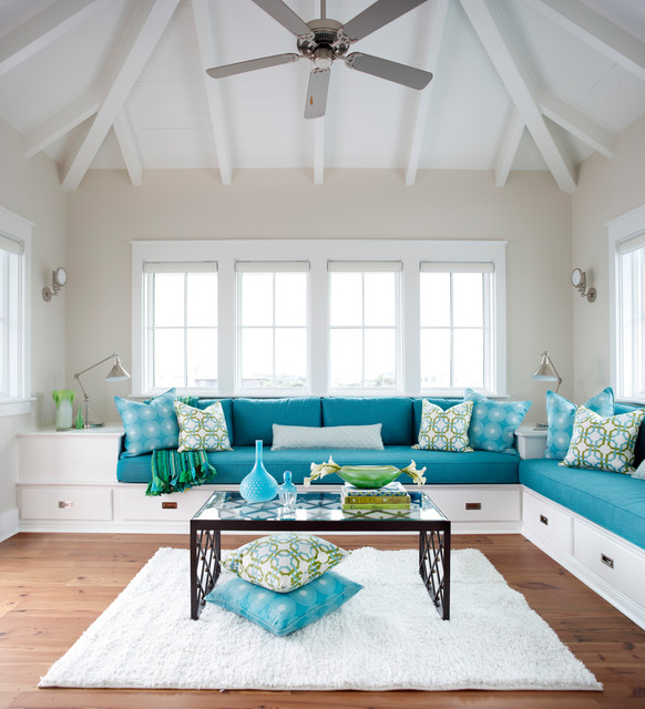 Perdido Key Beach Style Living Room Other By Cindy