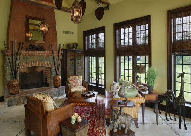 Period Colonial Home - Living Room - philadelphia - by Dewson ...