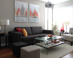 Personal Home Tour contemporary living room