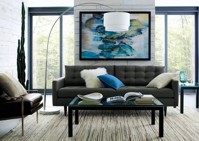 Petrie Sofa Contemporary Living Room By Crate Barrel