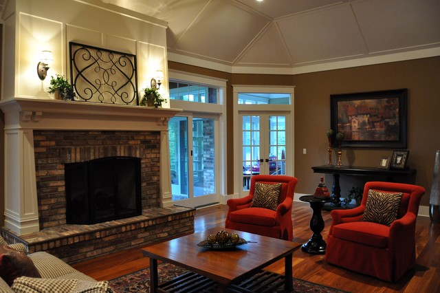 Pewaukee Residence traditional-living-room