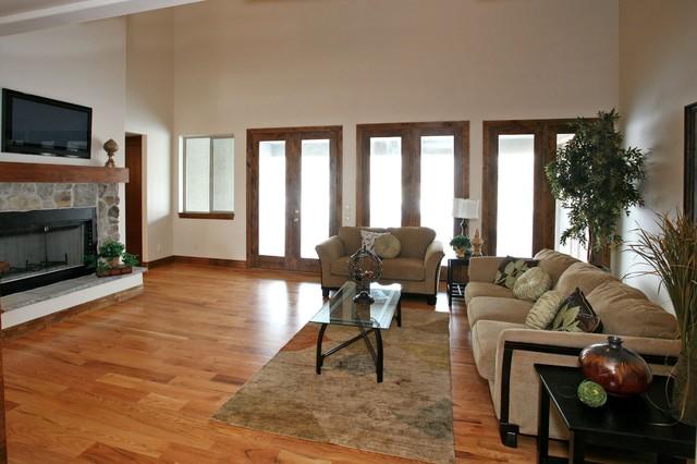 Pfeifferhorn- Alpine traditional-living-room