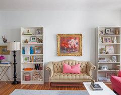 Philadelphia Penthouse eclectic-living-room