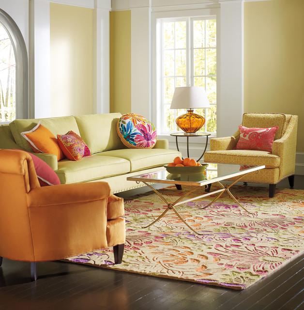 Living Room Made Of Sand: Phoebe Sand Rug Living Room