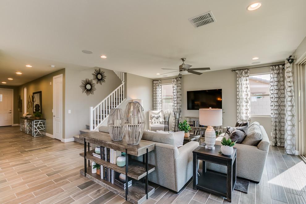 Phoenix, Arizona | Zanjero Trails - San Marino Living Room ...