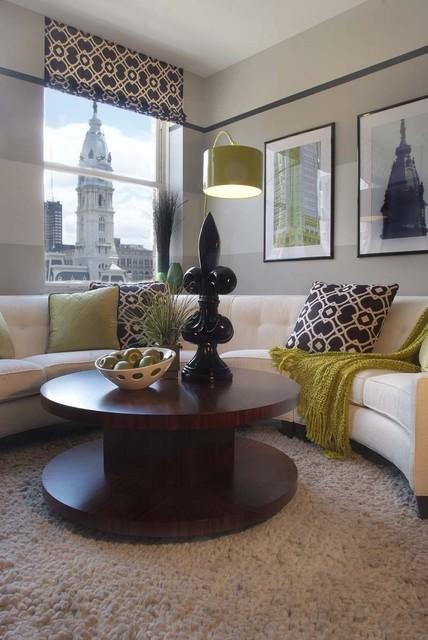 Phoenix contemporary-living-room