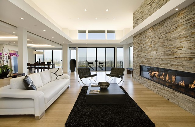 Photo: Norma Molina Lopez. Great room contemporary living room