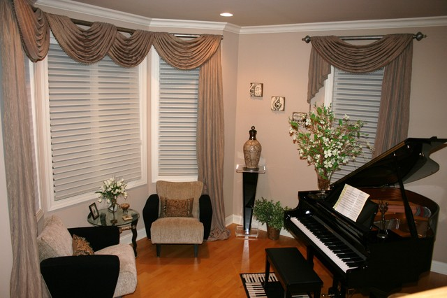 Piano Room In Long Grove Il Traditional Living Room