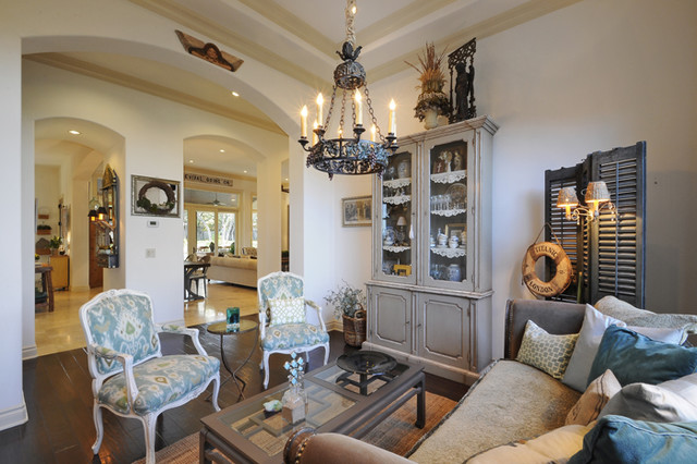 Piano Room eclectic-living-room