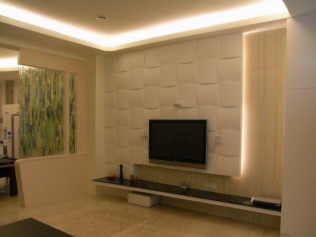 LCD Cabinet Inspiration For An Asian Living Room Remodel In Atlanta