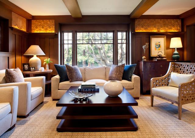 Piedmont Residence contemporary-living-room
