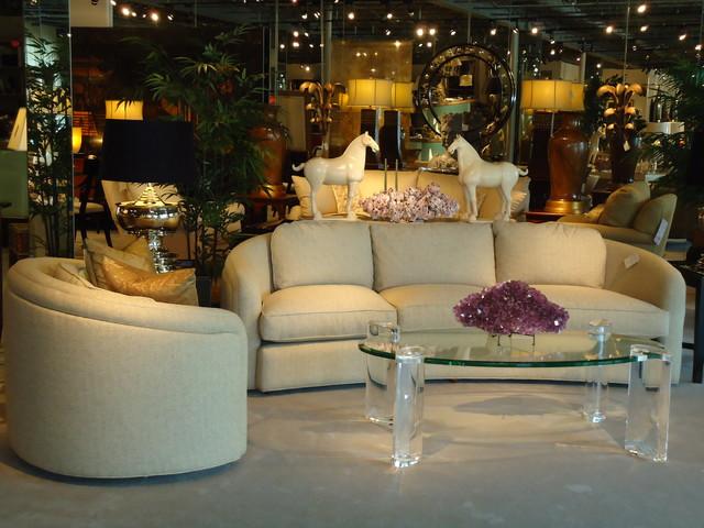 Pilie' Showroom eclectic-living-room