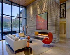 Tucson Residence Kitchen contemporary-living-room