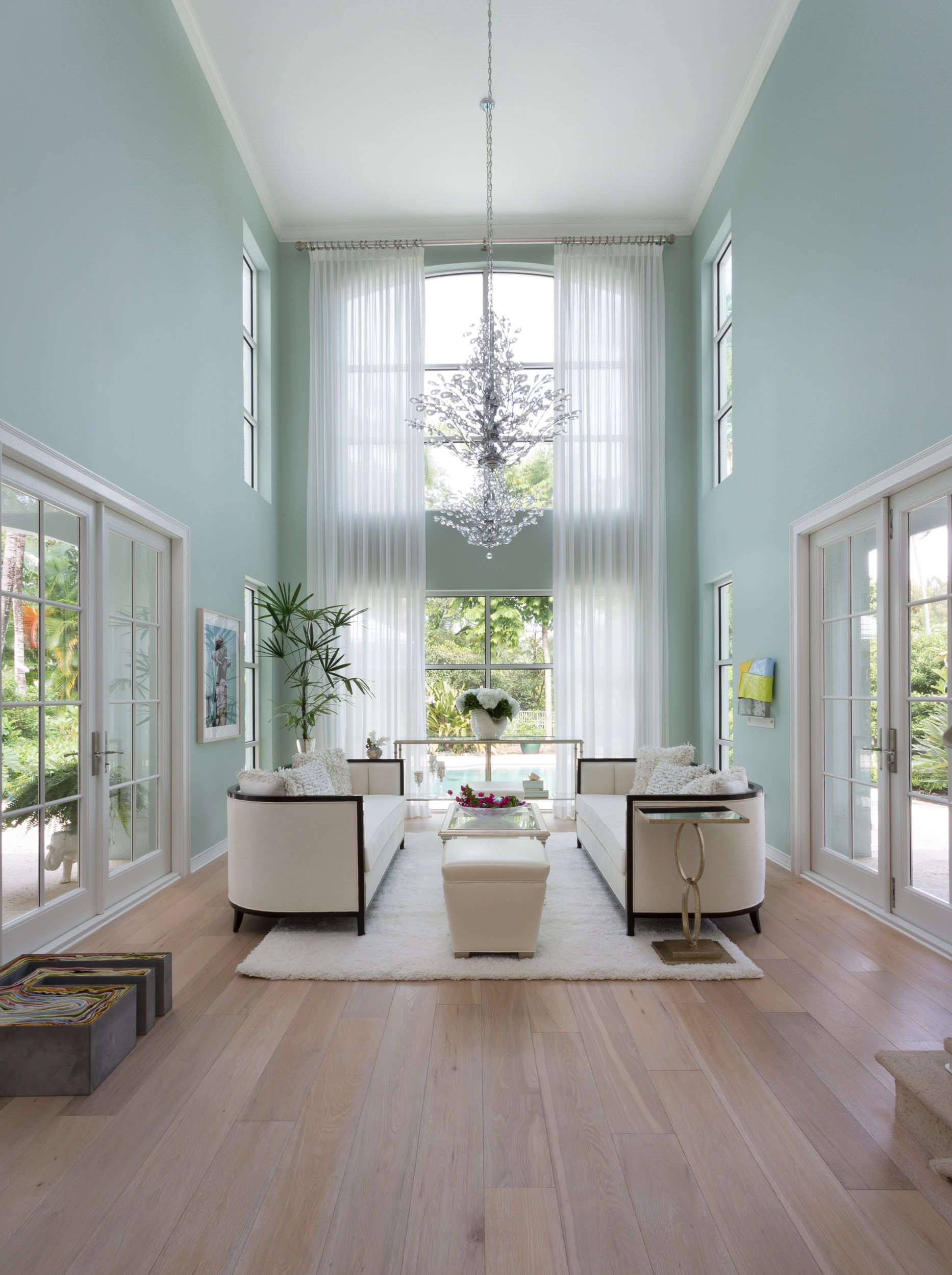 High Ceilings Curtains Living Room Ideas Photos Houzz