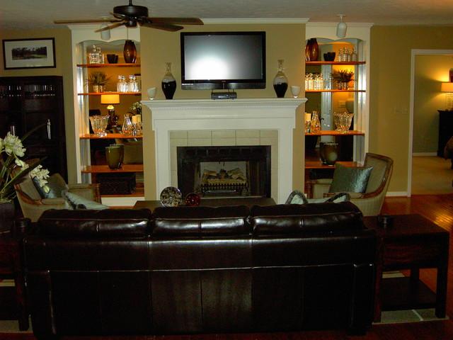 pinehurst residence traditional-living-room
