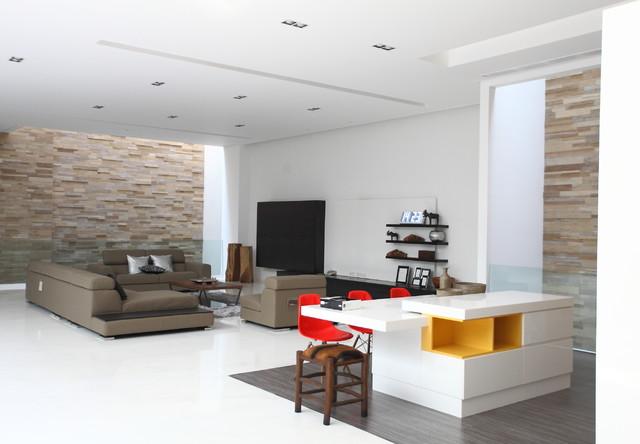 Pinisi Residence modern-living-room