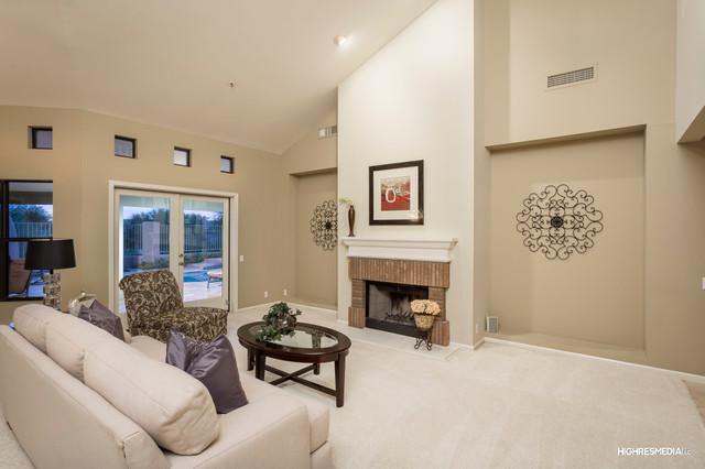 Pinnacle peak living room phoenix by kerri callidora for Living room 75020