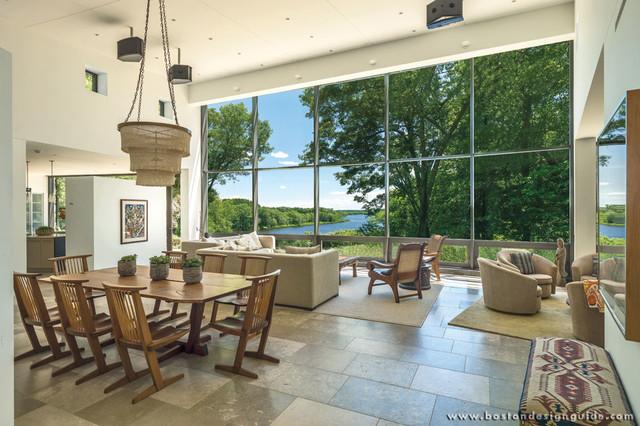 pisani associates architects modern living room newton traditional living room boston by colorlk