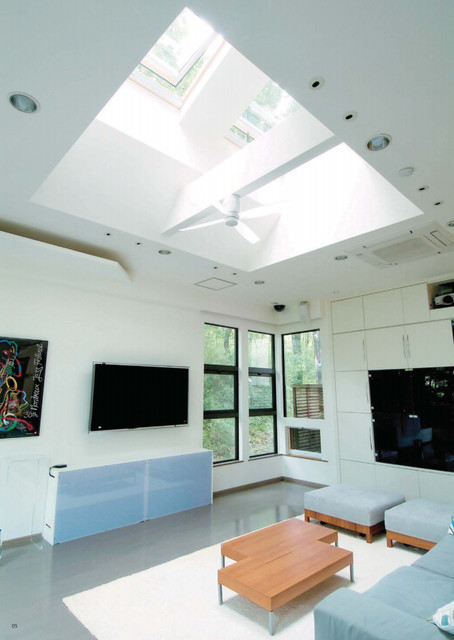 velux ggl 2070 roof windows in home extensions. Black Bedroom Furniture Sets. Home Design Ideas