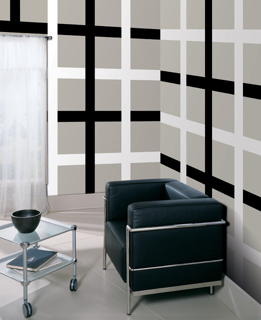 Plaid wall by WallPops Available in Dots Blox and Stripes