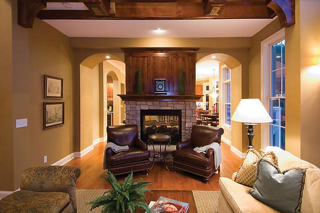 Plan #013S-0010 traditional-living-room