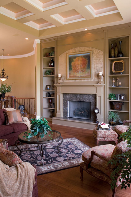Plan #119D-0007 traditional-living-room