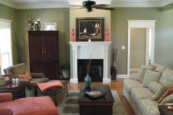 Plan 21 247 Craftsman Style Traditional Living Room