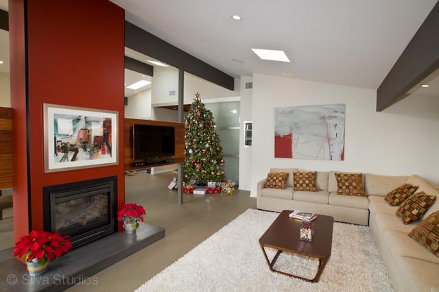 Playa House modern-living-room