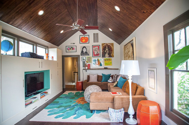 Playrooms eclectic-living-room