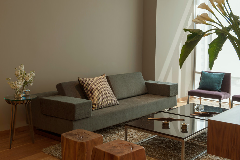 Inspiration for an eclectic living room remodel in Mexico City