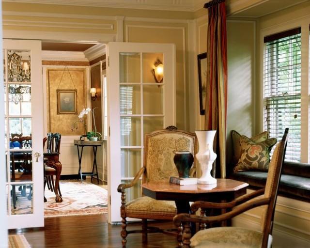 Pleasant Ridge, MI Residence traditional-living-room