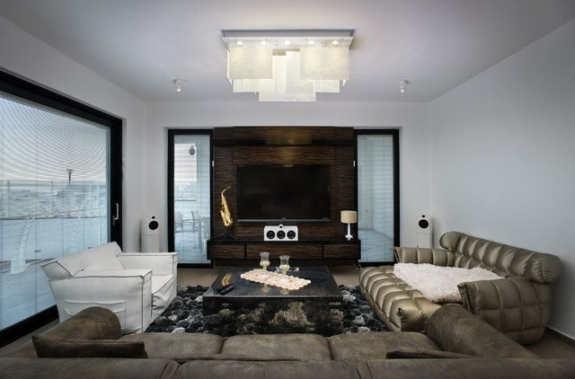 plice chandelier - modern - living room - new york -shakuff