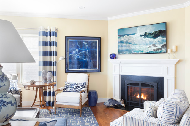 Plymouth house beach style living room by kate mogul for Mogul interior designs