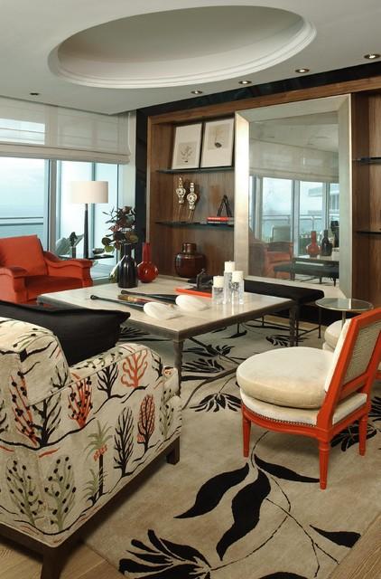 POGGI DESIGN contemporary-living-room