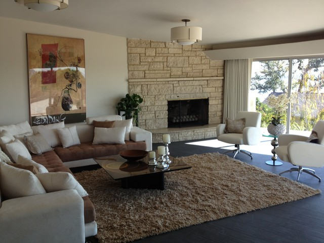 Point Loma Home Remodel modern-living-room