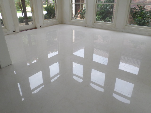 Polished Porcelain 24 Quot X24 Quot Tile With A 1 8 Quot Grout Line