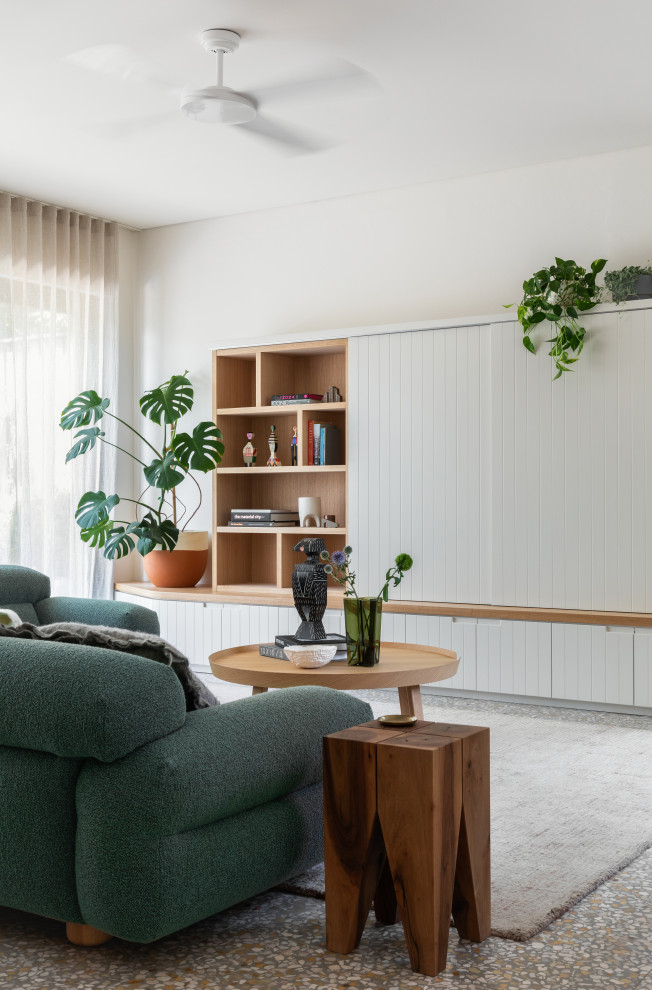 Example of a danish living room design in Sydney