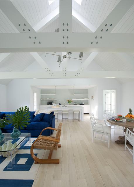 pool house coastal living room new york by james schettino