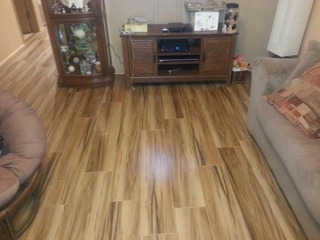 Porcelain tile color acacia for Hardwood floor dealers